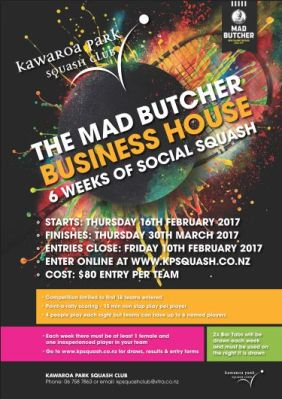2017 Business House Poster